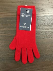 Women-039-s-Long-Cashmere-Gloves-Johnstons-of-Elgin-Made-in-Scotland-Red
