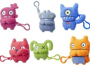 UGLY-DOLLS-TO-GO-SUPERSOFT-PLUSH-KEY-CLIPS-CHOOSE-YOUR-FAVOURITE-UGLY