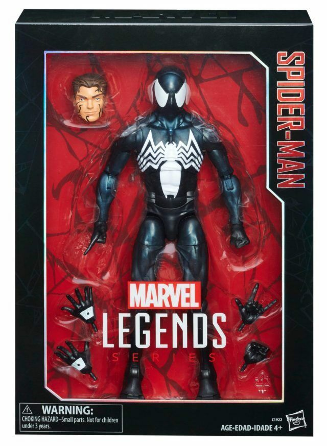 Hasbro Marvel Legends 12 Inch Symbiote New Spider-Man Action Figure New Symbiote 2017 ce1b74