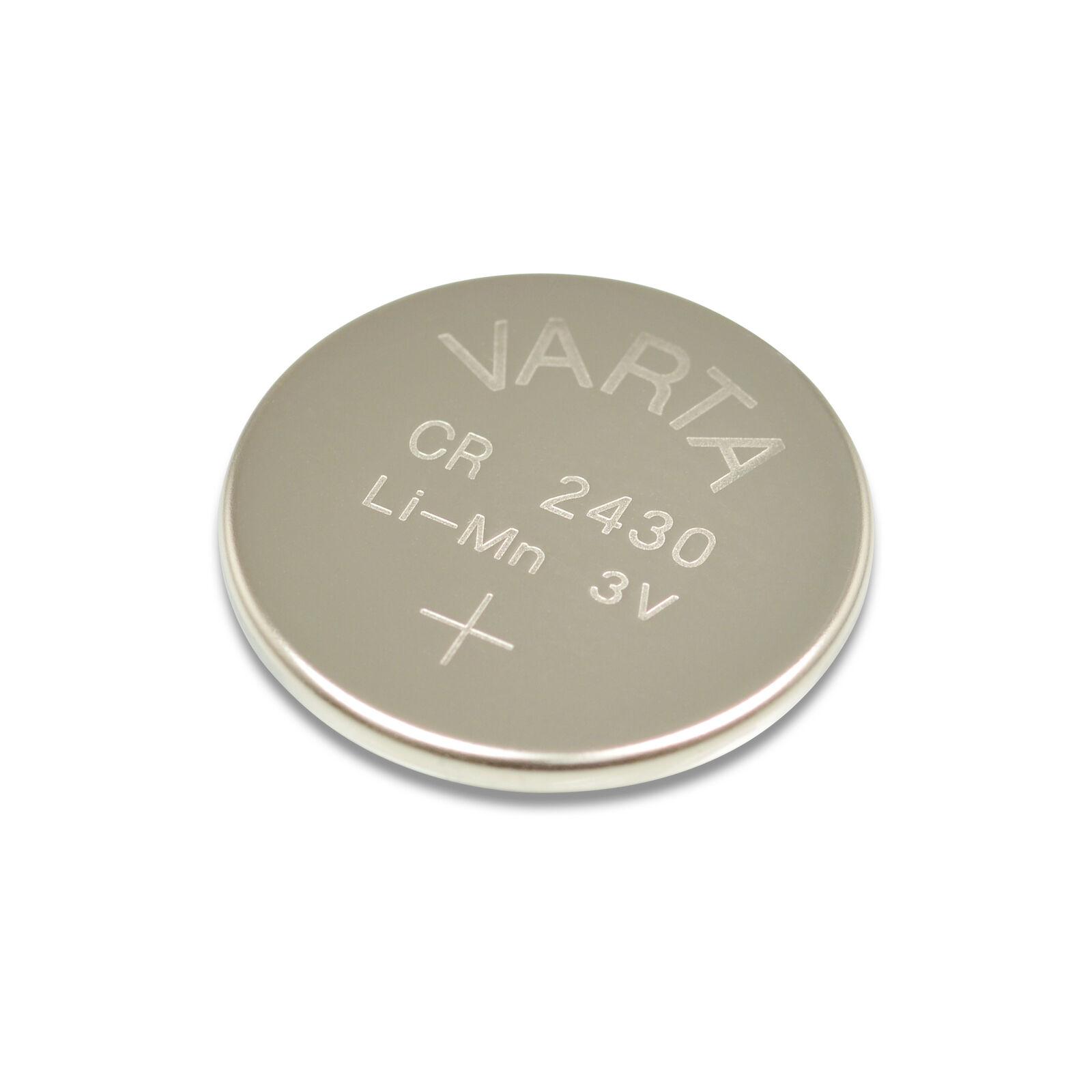 Original VARTA CR2430 3V Lithium Knopfzelle CR 2430 Set ver. Menge