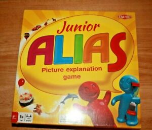 Junior-Alias-Board-Picture-Explanation-Game-HARD-TO-FIND-New-Sealed-Plastic