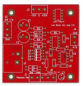 Ultra-low-noise-low-distortion-bal-mic-amplifier-PCB
