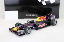 S. Vettel Red Bull RB6 Formel 1 Weltmeister Abu Dhabi GP 2010 1:18 Minichamps