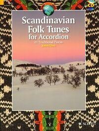Bien Scandinavian Folk Tunes Pour Accordéon Dyer + Cd-afficher Le Titre D'origine