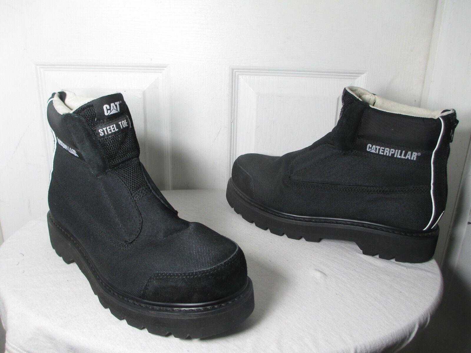 CHRISTOPHER SHANNON X CAT FW15 Moda Calzado botas para Hombre Puntera De Acero EE. UU. 12 Reino Unido 11