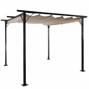 Pergola-MCW-C42-Jardin-Pabellon-6cm-Gestell-Techo-Solar-3-5x3-5m-Crema
