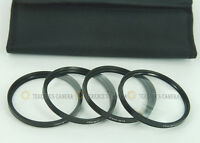 58 58mm Macro Close-Up +1 +2 +4 +10 Close Up Filter Kit