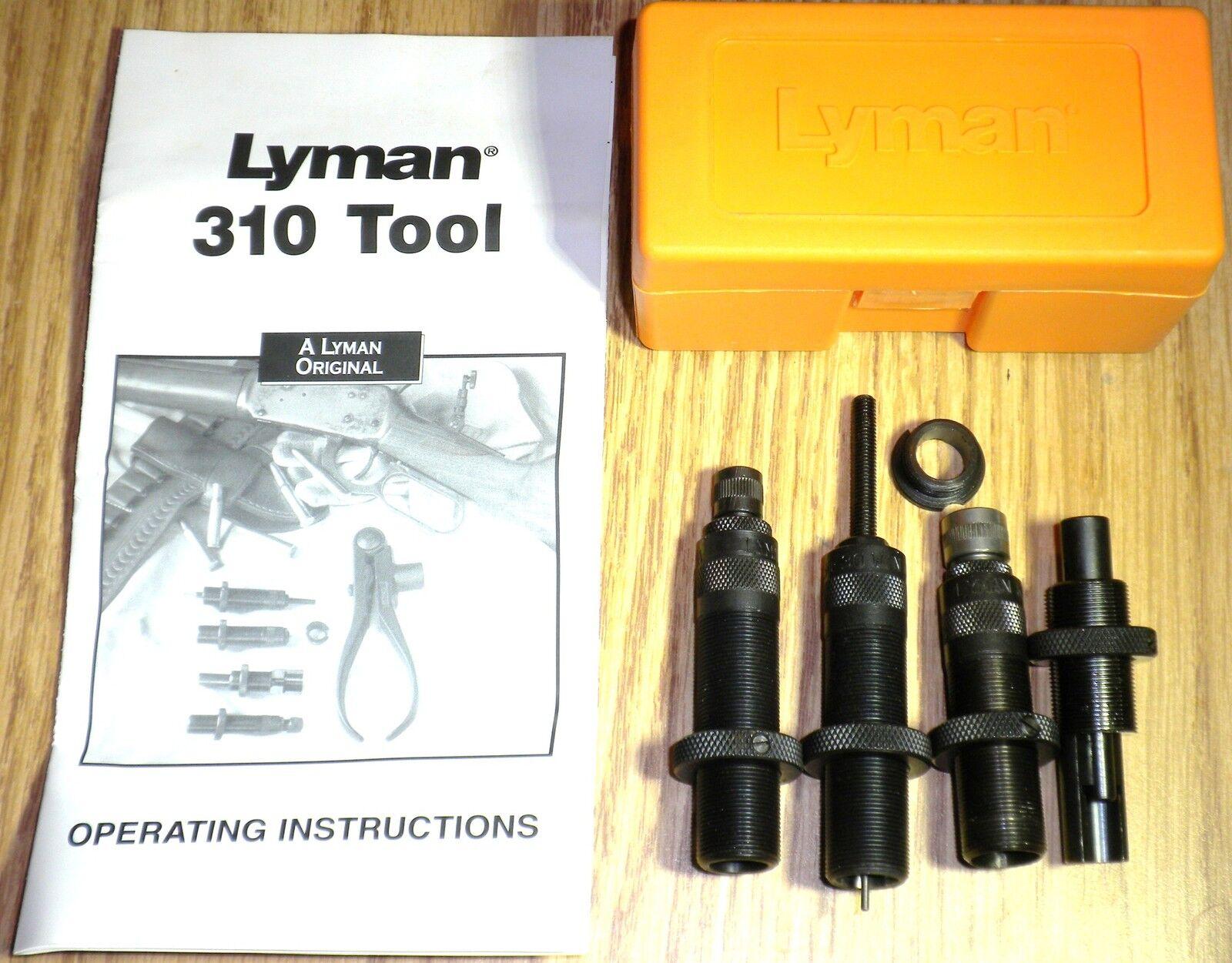 Lyman 310 Tool 4-Die Set 38-55 WCF (Large Handles RequiROT)      7020117    New