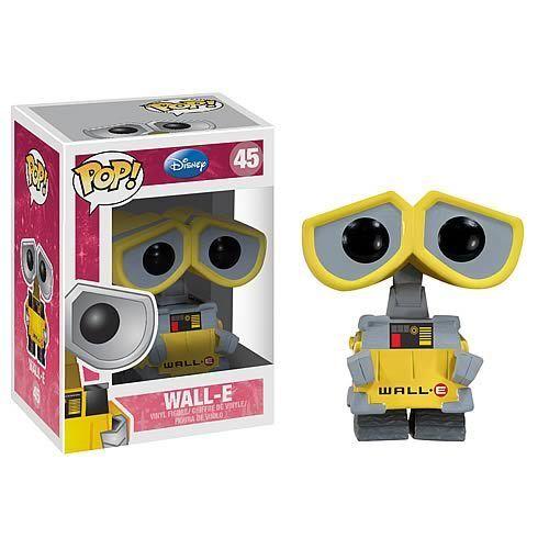 DISNEY WALL-E POP VINILE 3,75 figura NUOVISSIMO Funko Gran Regalo