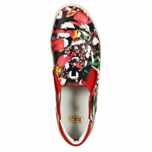 Details about  /ASH WOMEN/'S RED JUNGLE SKATE SLIP ON SNEAKER SHOES r8072  36 6 38 8 39 9 41 11