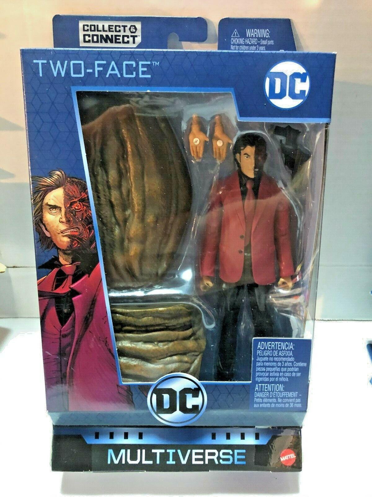 Dc Multiverse Alle Star Batman Two-Face Figur Mattel 2017 ClayFace Baf Serie