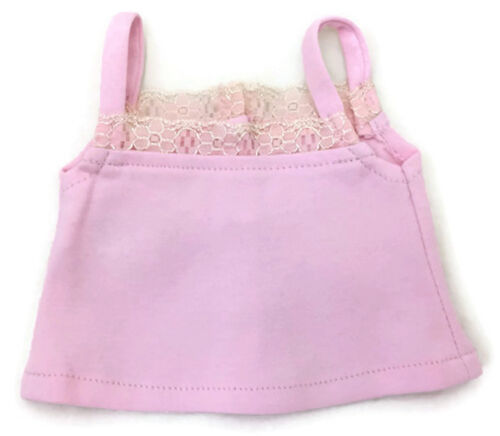 Light Pink Knit Camisole Top Shirt for 18 inch American Girl Doll Clothes
