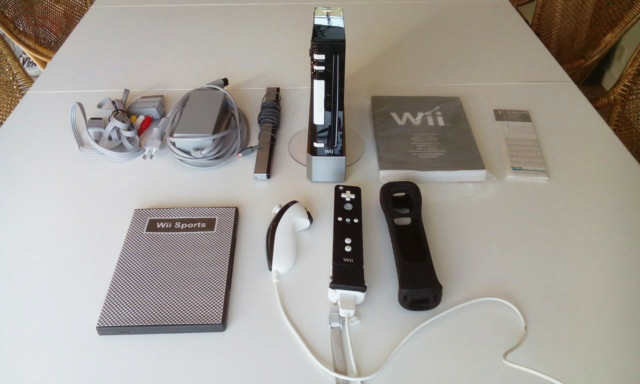 Nintendo Wii, White on Black, God, Custom White on Black…