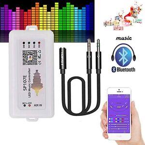 ContrôLeur Bluetooth Musique SPI IC SPI Pixel WIFI RGB SP107E pour WS2812 S P9G7