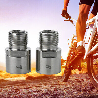 Bicycle Pedal Extender Adapter Steel Titanium Bike Spacer MTB Mountain Road Bike