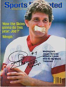 Joe-Theismann-Signed-Sports-Illustrated-NO-LABEL-9-3-84-W-034-SB-XVII-Champs-034-SCH