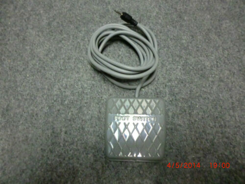 D Foot Switch Type EFS 250V 10A Highly Electric for Acticure 4000 UV System