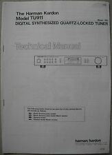 Harman Kardon TU911 Tuner Service Manual
