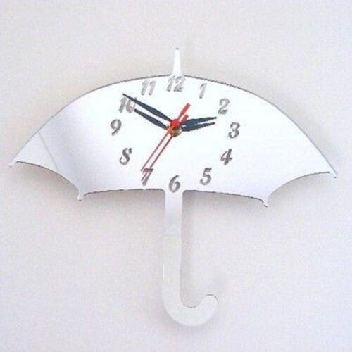 Umbrella Mirrored Clock