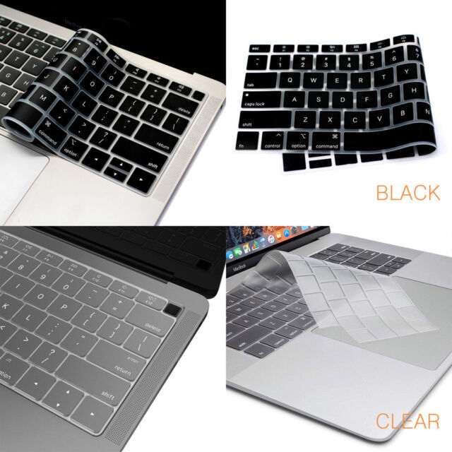 sale retailer f5ad7 0b094 2 pack Keyboard Cover skin for MacBook Pro Air Retina 2016 2017 2018 2019  13 15