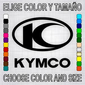 Vinilo-adhesivo-KYMCO-pegatina-autocollant-logo-moto-emblema-motor-decal