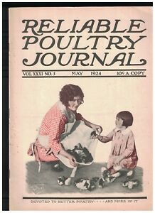 Reliable-Poultry-Journal-Magazine-May-1924-Baby-Chick-Cover-Rouen-Ducks