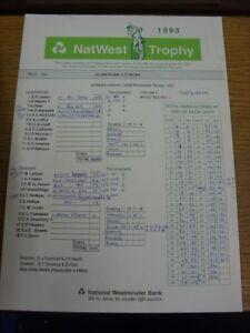 07-07-1993-Cricket-Scorecard-Glamorgan-v-Durham-Nat-West-Trophy-At-Sophia-Ga