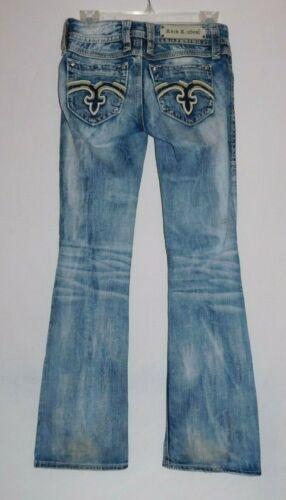 Rock Revival Alanis Boot Cut Jeans Size 26