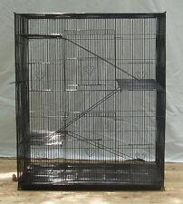 NEW Large 4 level Rat Ferret Chinchilla Sugar Glider Mice Animal Cage BLK 566