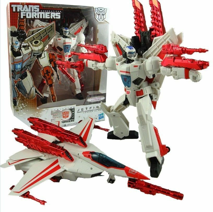 Hasbro Transformers IDW 30th Anniversary Leader Class Jetfire 9.8  Action Figure