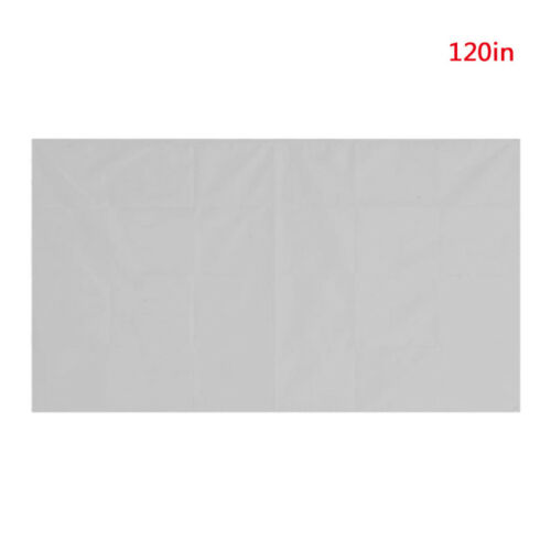 60-120In 16:9 HD TV Projector Screen Cinema Home Theatre Outdoor Projection vfg