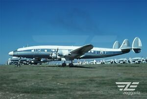 Aircraft-Photo-4-x-6-0-40167-Lockheed-C-121-Constellation-U-S-Air-Force-1970s