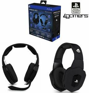 PRO4-80 Premium Gaming Headset Negro para PS4 Sony Playstation 4...
