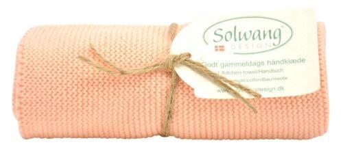 3 Serviette Küchentuch tricote//brique h88 solwang DK