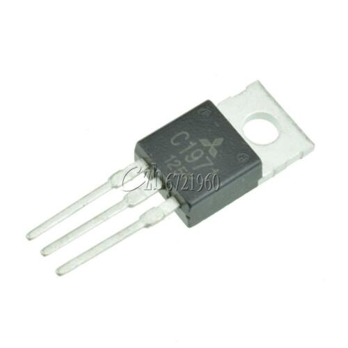 5pcs RF//VHF//UHF Transistor MITSUBISHI TO-220 2SC1971 C1971 100/% NEW