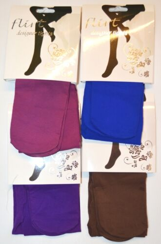 1 Pair of Older Girls Thin Bright Colours Tights One Size Fits 8-16 Years A108