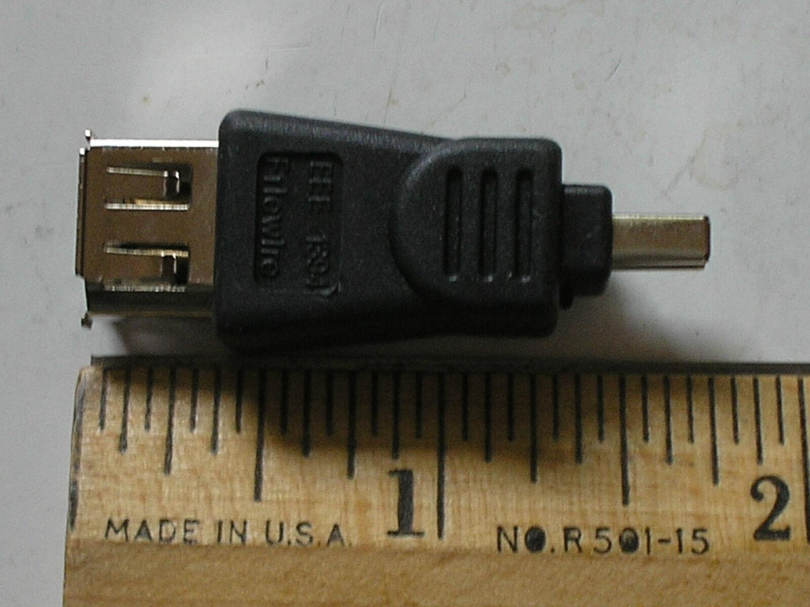 IEEE1394 FireWire 6P-F/4P-M Gender Changer 17679-*2W