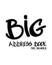 NEW Big Address Book for Seniors by Trikk Media Paperback Book (English) Free Sh