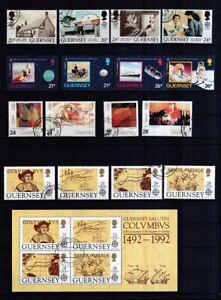 Guernsey-1990-2000-gestempelt-Europa-CEPT-siehe-Bild