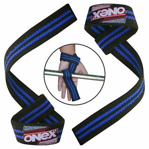 Onex-Weight-Lifting-Padded-Straps-Gym-Training-Gloves-Hand-Wrist-Wraps-Support