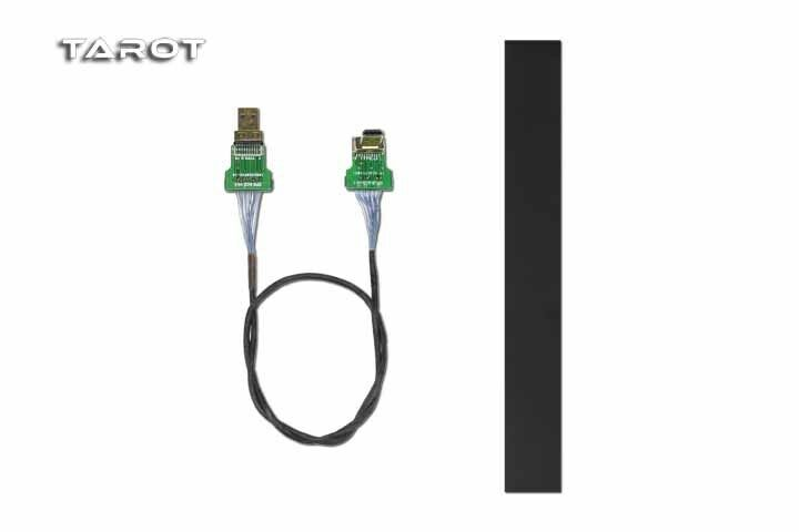 TAred-RC Mini Camera Camera Camera Gimbal Cable Straight HDMI to Micro HDMI Non-Destructive 7c2c36