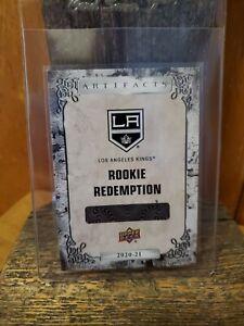 2020-21 Upper Deck Artifacts Rookie Redemption #194 Arthur Kaliyev LA Kings