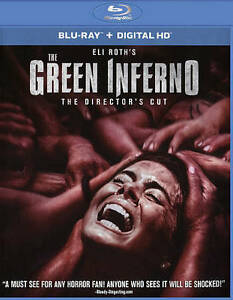 The Green Inferno Blu Ray Disc 2016 Includes Digital Copy Ultraviolet