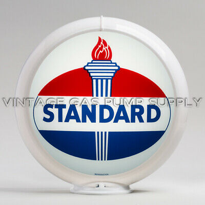 "FREE SHIPPING U.S G187 Standard Oval 13.5/"" Gas Pump Globe Only"