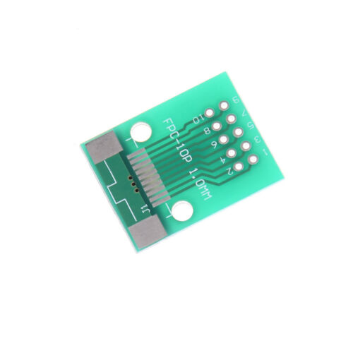 1Pcs 10-Pin 0.5mm FFC FPC to 10P DIP 2.54mm PCB Converter Board Adapter$-$