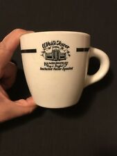 Early Vintage White Tower 5¢ Hamburgers Five Cent Restaurant Ware Coffee Mug Cup
