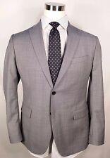 BANANA REPUBLIC Gray Sports Coat Blazer 44 R Tailored Fit 100% Wool
