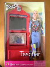 """Barbie 50613 de Mattel """"Teacher"""", nuevo con embalaje original, NIB"""