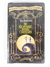 Disney Tim Burton's The Nightmare Before Christmas Special Edition VHS 20124