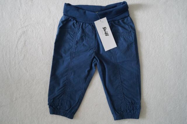 STEIFF schöne Hose Gr. 62 68 blau  NEU